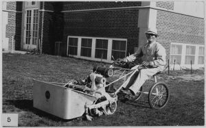 800px-Early_Toro_brand_riding_lawn_mower_-_NARA_-_285450